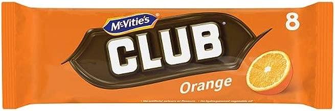 McVities Club Biscuits Orange 8pk (Pack of 3)