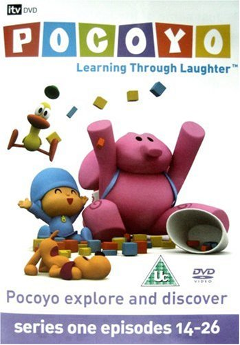 Pocoyo - Series 1 - Episodes 14-26 - Explore And Discover [UK Import]
