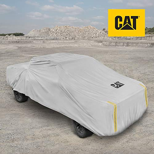 Caterpillar CAT Workforce Pickup Truck Cover - Waterproof All Weather Outdoor Car Cover 6-Layer Tough Protection for Winter Summer Rain Wind UV Snow for Full Size Regular Cab