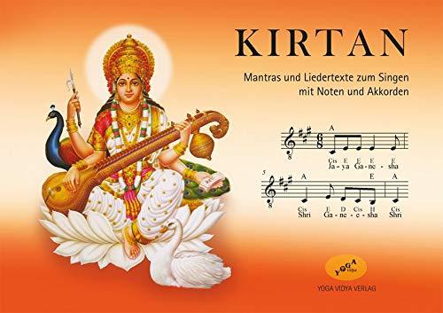 Kirtan Ringbuch A5 Notenheft: Mantras und Liedertexte zum Singen mit Noten und Harmonien