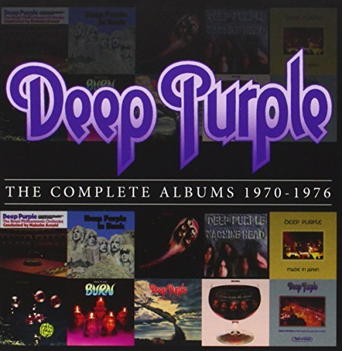 The Complete Album 1970-1976 (10CD) by Deep Purple (2013-10-15)