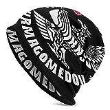 CpdHcRbeh Khabib Nurmagomedov Adult Knit Hats Casual Unisex Beanie Hat Printing Cap Black for Men and Women