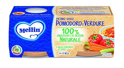 Mellin Primi Sughi Pomodoro e Verdure – 24 Vasetti da 80 gr