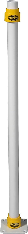 Max 86% OFF Overseas parallel import regular item WamBam Fence SB61000 Surface Mount White