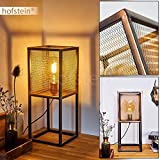 Gatineau - Lámpara de mesa (metal, casquillo E27, 60 W, LED)