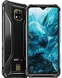 DOOGEE S95 Pro Telephone Portable Incassable Debloqué, Helio P90 Octa-Core 8 Go +256 Go, 6.3 Pouces FHD+ IP68 Etanche Smartphone Incassable 4G, Caméra 48MP, 5150mAh, Android 9.0 Charge sans Fil, NFC