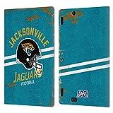Head Case Designs Licenciado Oficialmente NFL Casco Distressed Look 100th Jacksonville Jaguars Logo ...