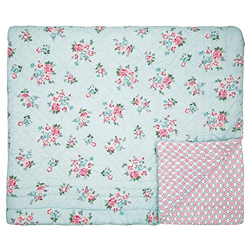 GreenGate - Tagesdecke, Quilt - Sonia - Pale Blue - Baumwolle - 180x230cm