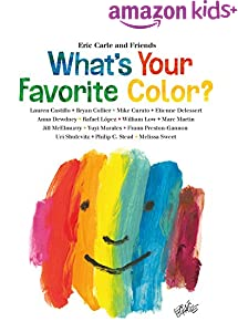 What's Your Favorite Color? (Eric Carle and Friends' What's Your Favorite Book 2)