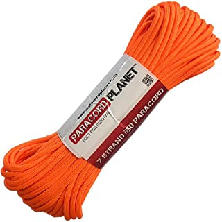 featured product OUTDOOR Paracord Planet Mil-Spec Commercial Grade 550lb Type III Nylon Paracord