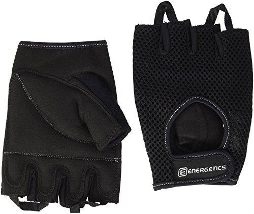 ENERGETICS Training 110 Handschuhe, Schwarz/Grau, One Size