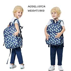 51 ZQ59uOpL. SS300  - Mochila Niños,RAVUO Linda Mochila Dinosaurio para Niño y Niñas Mochila Infantil de Preescolar Kindergarten con Correa para el Pecho