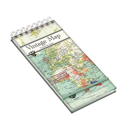 Notitieboekje met ringband - vintage map