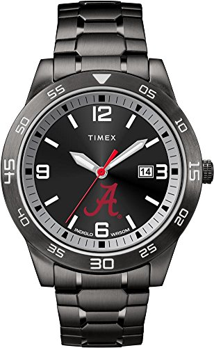 Timex Alabama Crimson Tide Bama Men's Black Acclaim Watch