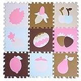 9 Stück Puzzle/wasserdichte Schaumstoffmatten Kinder & Baby Foam-Spiel-Matten-06