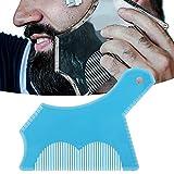 Moldeador de barba, herramienta para moldear barba hecha de