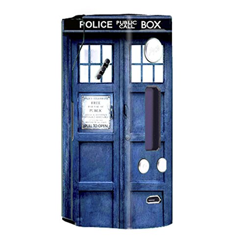 Skin Decal Vinyl Wrap for Wismec Reuleaux RX200 Vape Mod Skins Stickers Cover / Phone booth, Tardis call box