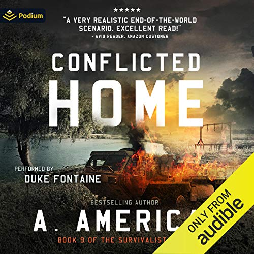 Conflicted Home Audiobook By A. American cover art