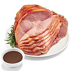 365 Everyday Value, Pork Ham Bone-In Spiral Sliced Half Step 1