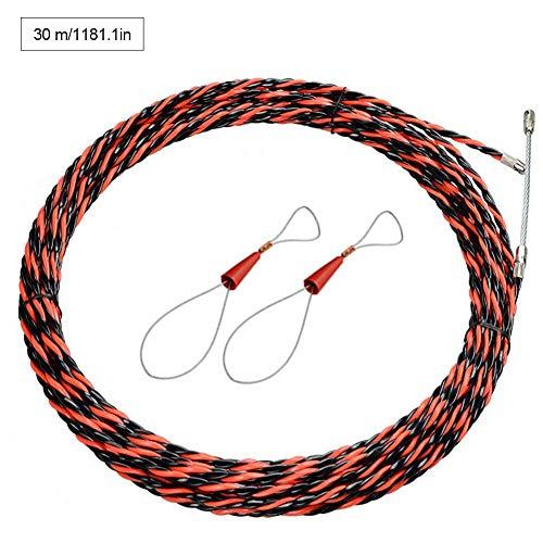 Cable De 5 / 30M Herramienta De Cable De Fibra De Vidrio