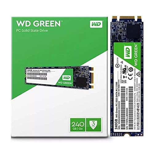 SSD WD Green M.2 2280 240GB - WDS240G2G0B