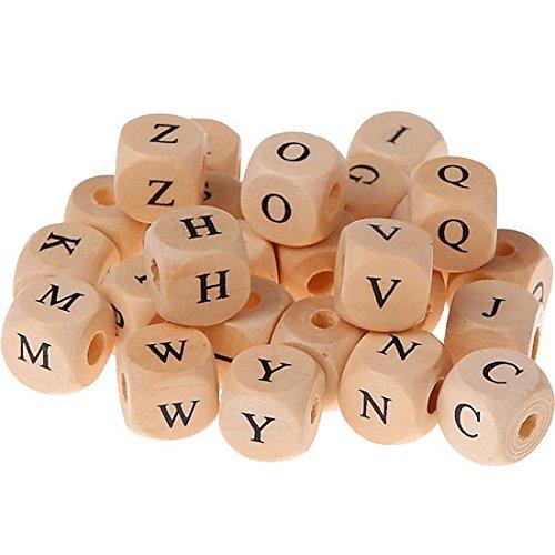 300 bedruckte Buchstabenwürfel