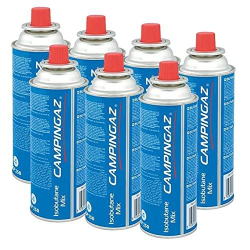Campingaz Ventil-Gaskartusche CP 250 - Isobutane Mix (7er Pack)