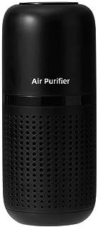 Air Purifier 空气净化器 小型 除臭 静音设计 降噪节能 健康 负离子杀菌 经久耐用 有效净化 家用 车载 (Black)