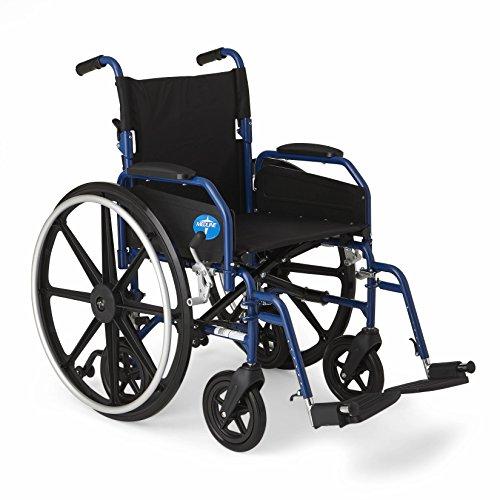 Medline Hybrid Wheelchair + Transport Chair