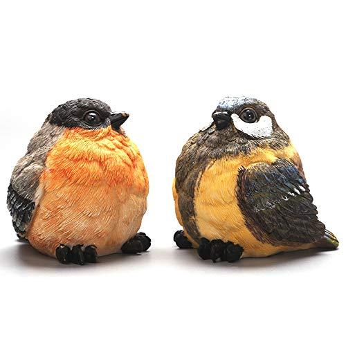 YINYUEDAO Bird Decorative Figure,Funny Garden Bird Statue,Home Decor Garden Decoration,Ornament Animals for Garden…
