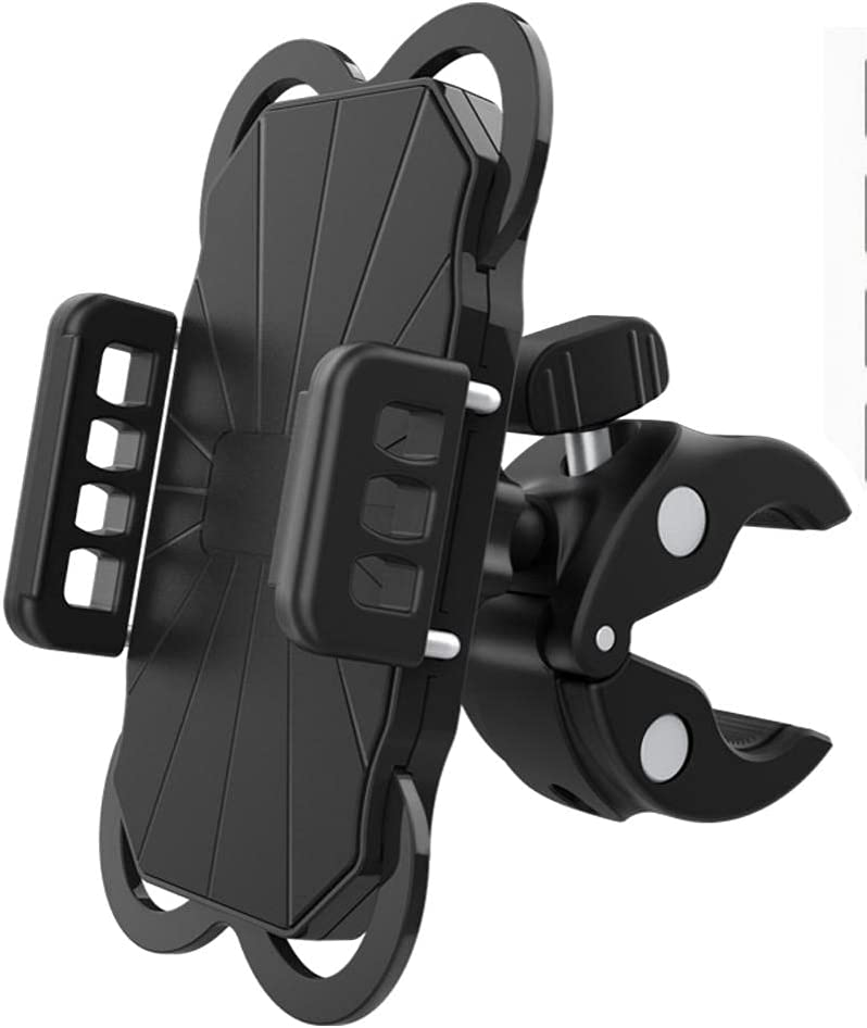 Bike Phone Mount, Applied for Motorcycles, 360 Degree Rotation, Easy to Install, Protect The Mobile Phone from Falling Off