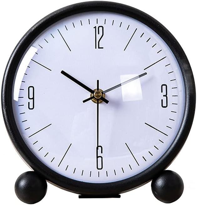 hongbanlemp Clock for Desk New mail order Silent Desktop Home Charlotte Mall