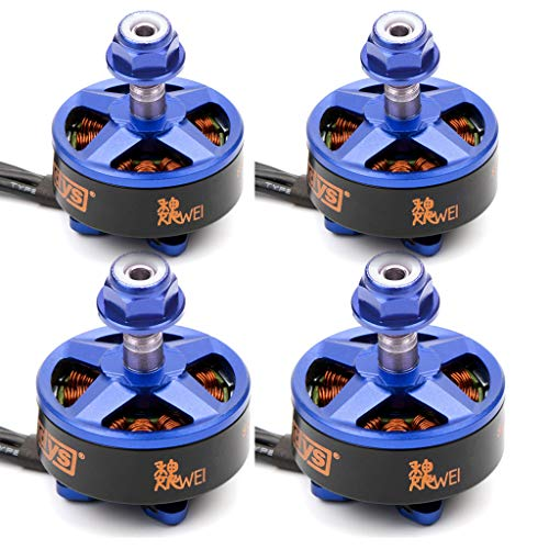 Price comparison product image DYS Samguk Series Motor WEI 2207 3-4S Brushless Motor for RC Models FPV Quadcopters Multicopters Drones (2300KV)
