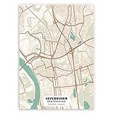 Murrano Poster Wandbilder Deko Wohnzimmer - Städte - zur