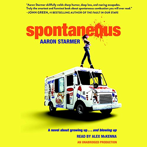 Spontaneous audiobook cover art