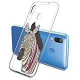 Oihxse Mode Case Compatible pour Samsung Galaxy J7 Duo 2018 Coque Transparent Silicone Gel TPU...