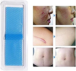 Scar Removal Sheets, Lesgos Silicone Scar Sheets for Scar Removal - Use Up to 25 Days, Scar Gel Silicone Tape for Stretch ...