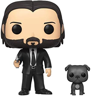 Funko Pop! Movies: John Wick - John in Black Suit with Dog Buddy