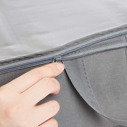 Amazonベーシック『布製アンダーベッドストレージバッグオーガナイザー』