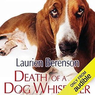Death of a Dog Whisperer audiobook cover art