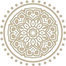 HYO Indian vinyl beige 150x150 cm