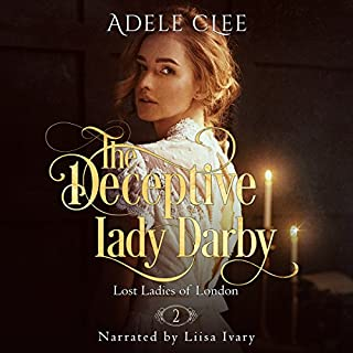 The Deceptive Lady Darby audiobook cover art