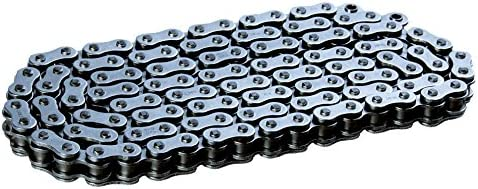 RK Racing Chain Indianapolis Arlington Mall Mall 428XSO-124 Steel with X-Ring 124 Con Links