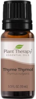 Plant Therapy Thyme Thymol Essential Oil 100% Pure, Undiluted, Natural Aromatherapy, Therapeutic Grade 10 Milliliter (1/3 ...