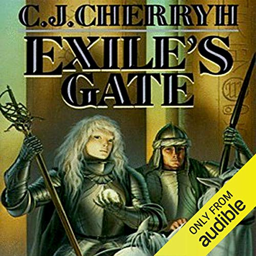 Exile's Gate audiobook cover art