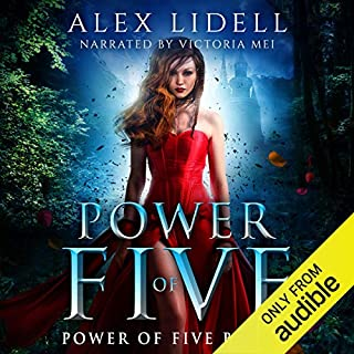 Power of Five: Reverse Harem Fantasy audiobook cover art