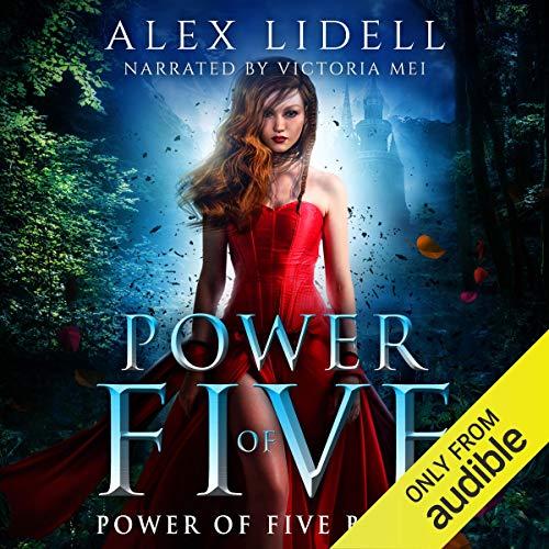 Page de couverture de Power of Five: Reverse Harem Fantasy