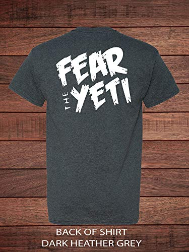 Fear the Yeti with this One of a Kind Shirt inspired from Expedition Everest at Disney's Animal Kingdom - Family Vacation Shirt Disney World