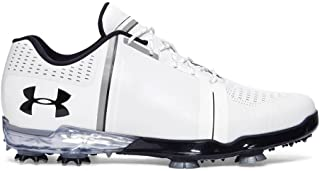5e84e43aec6f Under Armour New Jordan Spieth One White/Black Golf Shoes Mens Size 10