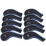 Gobesty Golf Schlägerkopfhüllen Schutz 10